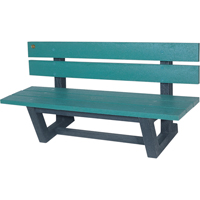 Recycled Plastic Outdoor Park Benches NJ026 | Ontario Safety Product
