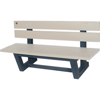 Recycled Plastic Outdoor Park Benches NJ027 | Ontario Safety Product