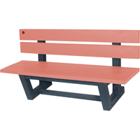 Recycled Plastic Outdoor Park Benches NJ028 | Ontario Safety Product
