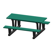 Recycled Plastic Outdoor Picnic Tables NJ036 | Ontario Safety Product