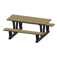 Recycled Plastic Outdoor Picnic Tables NJ037 | Ontario Safety Product