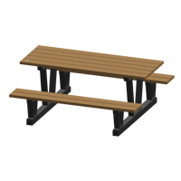 Recycled Plastic Outdoor Picnic Tables NJ038 | Ontario Safety Product