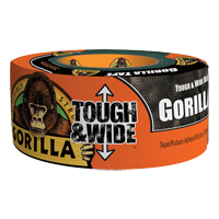 Tough & Wide Black Gorilla Duct Tape NKA483 | Ontario Safety Product