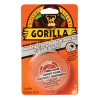 Gorilla Tough & Clear Mounting Tape NKA486 | Ontario Safety Product