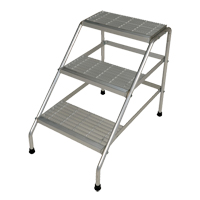 Aluminum Step Stand NKH898 | Ontario Safety Product