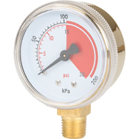 Brass Gauges NT623 | Ontario Safety Product