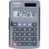 Casio Dual-Power Calculators OD599 | Ontario Safety Product