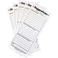 Suggestion Boxes - Suggestion Cards, 25/pkg OE811 | Ontario Safety Product