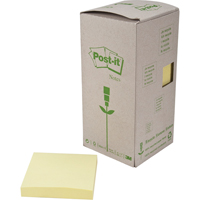 Recycled Post-it® Self-Adhesive Notepads OK991 | Ontario Safety Product
