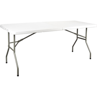 Polyethylene Fold-in-Half Tables ON601 | Ontario Safety Product