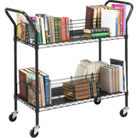 Double-Sided Wire Book Carts ON735 | Ontario Safety Product