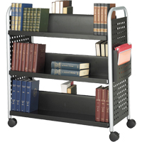 Scoot™ Book Carts ON736 | Ontario Safety Product
