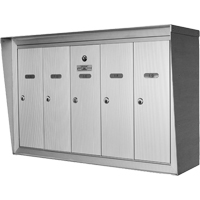 Single Deck Wall Mounted Mailboxes OP382 | Ontario Safety Product