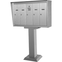 Single Deck Pedestal Mailboxes OP394 | Ontario Safety Product