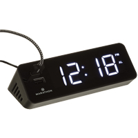LED Alarm Clock OP599 | Ontario Safety Product