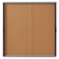 Quartet® Euro™ Enclosed Bulletin Board OP848 | Ontario Safety Product