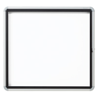 Quartet® Euro™ Enclosed Magnetic White Board OP849 | Ontario Safety Product