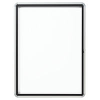 Quartet® Euro™ Enclosed Magnetic White Board OP850 | Ontario Safety Product