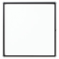 Quartet® Euro™ Enclosed Magnetic White Board OP851 | Ontario Safety Product