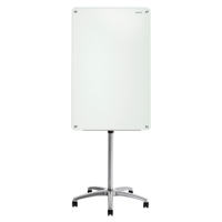 Quartet® Infinity™ Glass Magnetic Mobile Easel OP852 | Ontario Safety Product