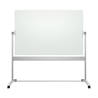 Quartet® Infinity™ Reversible Glass Magnetic Mobile Easel OP853 | Ontario Safety Product