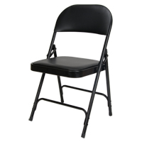 Vinyl Padded Folding Chair OP962 | Ontario Safety Product
