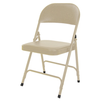 Vinyl Padded Folding Chair OP963 | Ontario Safety Product