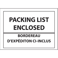 Packing List Envelopes PB244 | Ontario Safety Product
