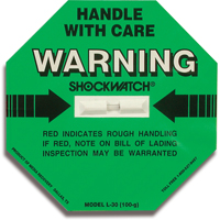 Shockwatch® Impact Detection Devices PC438 | Ontario Safety Product