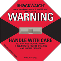 Shockwatch® Impact Detection Devices PC440 | Ontario Safety Product