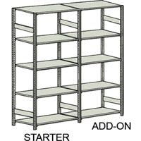 Easy-Up 5000 Shelving RH852 | Ontario Safety Product