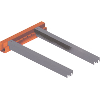 Redirack Profile Accessories - Safety Bar for Step Beams RL029 | Ontario Safety Product