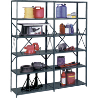 Heavy-Duty Ultracap™ Steel Shelving RL220 | Ontario Safety Product
