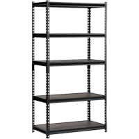 Heavy-Duty Boltless Steel Shelving RN057 | Ontario Safety Product