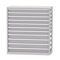 Integrated Shelving Drawer Inserts for Metalware Shelving RN470 | Ontario Safety Product