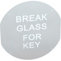 Key Boxes - Replacement Glass SAG772 | Ontario Safety Product