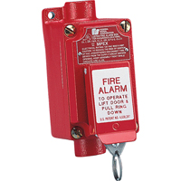 Explosion-proof Fire Alarm Pull Station (mpex) Two-step Operation Prevents Accidental Activation SAR389 | Ontario Safety Product