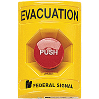 Push Button Station -For Vandal-resistant Activation Of Emergency Systems SAR391 | Ontario Safety Product
