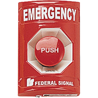 Push Button Station -For Vandal-resistant Activation Of Emergency Systems SAR392 | Ontario Safety Product