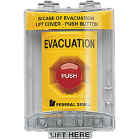 For Vandal-resistant Activation Of Emergency Systems SAR394 | Ontario Safety Product