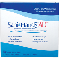 Sani-Hands® ALC Antimicrobial Hand Wipes SAY434 | Ontario Safety Product