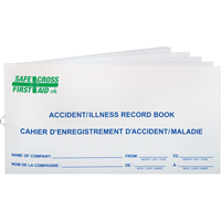 Accident Record Books SAY530 | Ontario Safety Product