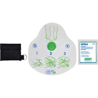 Safecross® CPR Faceshield Kits SAY566 | Ontario Safety Product
