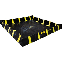 QuickBerm® Containment Berm with Inside Wall Supports SDN634 | Ontario Safety Product