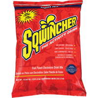 SQWINCHER POWDER PACK 47.66OZ FRUIT PUNCH SEC586 | Ontario Safety Product