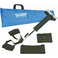 Sager Form III Bilateral Traction Splints SEE496 | Ontario Safety Product