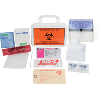 Deluxe Biohazard Clean-Up Spillkit SEJ383 | Ontario Safety Product
