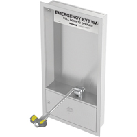 Barrier-Free Concealed Cabinet Eyewash Stations SEK231 | Ontario Safety Product