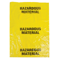 Hazardous Waste Bags SEK328 | Ontario Safety Product
