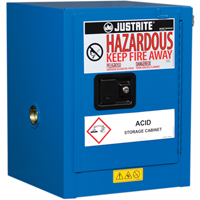 Chem-Cor® Lined Hazardous Material Countertop Safety Cabinets SEL040 | Ontario Safety Product